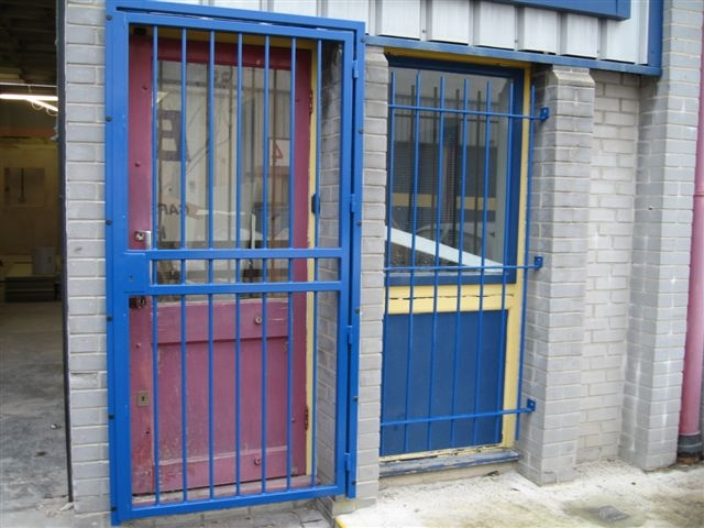 Security door gates easy fit grilles